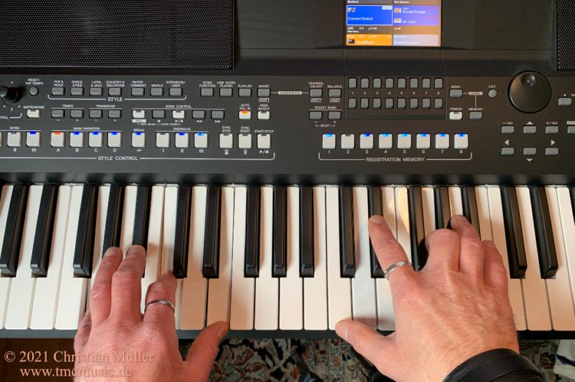Keyboardunterricht auch in der Corona-Zeit